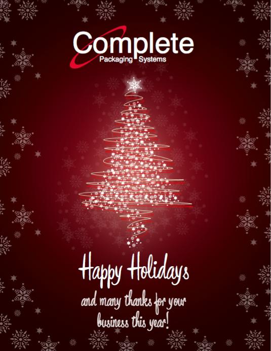 happy holidays company